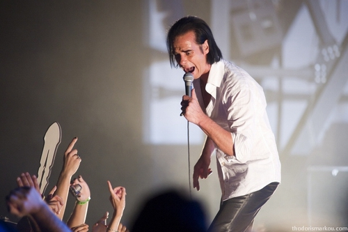 nick cave live athens