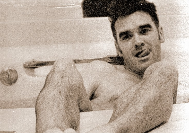 morrissey in the bathtub